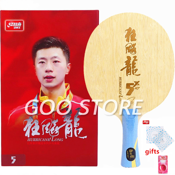 DHS Hurricane Ma Long 3 / Long 5 / Long 5x Table Tennis Blade Original Arylate Carbon ALC DHS Ping Pong Racket bat paddle original dhs hurricane h tp table tennis pingpong blade shakehand fl