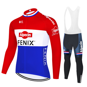 Alpecin fenix-ropa de ciclismo del equipo profesional para hombre, kit de Ciclismo...