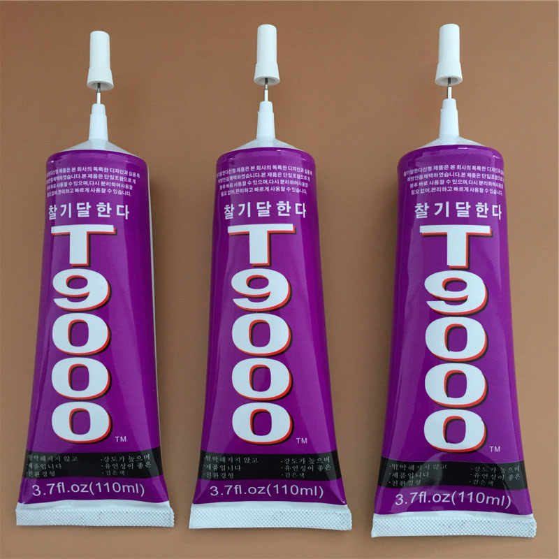 T9000 Transparent Liquid Glue Powerful Adhesive Sealant Mobile Phone Touch Screen Repair Tool, 15ML