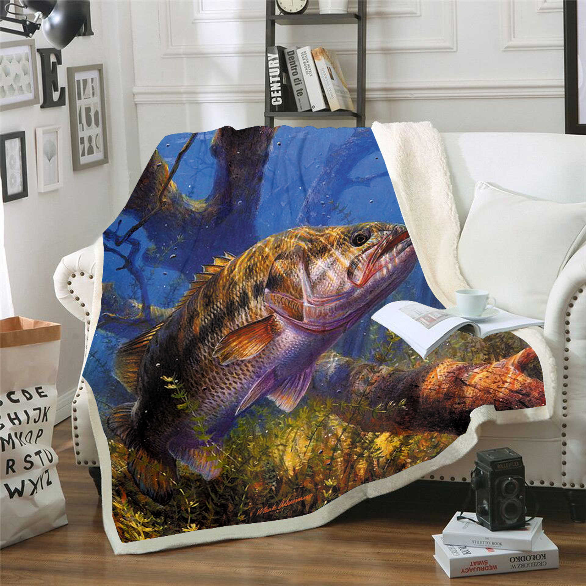 mallcentral-EU Blankets Fishes,Carp Perch and Bass Blankets