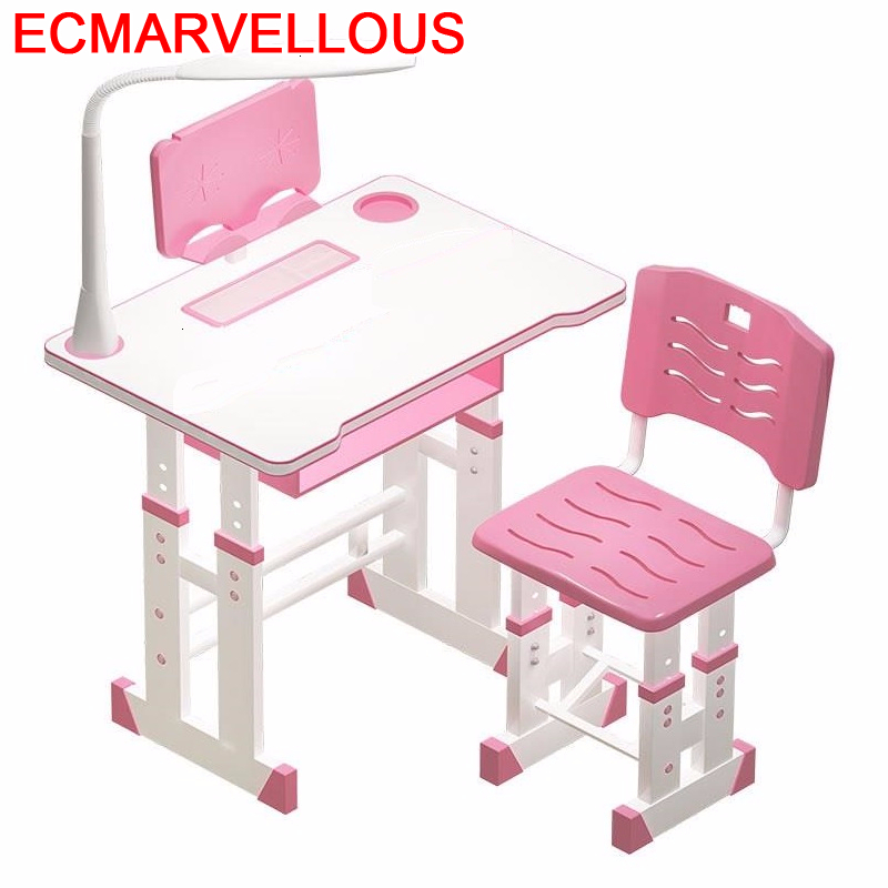 Pour Children Cocuk Masasi Avec Chaise Baby Pupitre Toddler Adjustable Mesa Infantil Kinder For Bureau Enfant Kids Study Table