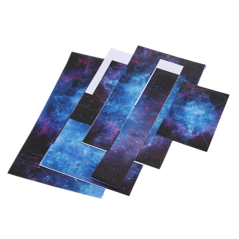 Nebula Pattern Skin Sticker For  ONE Console Controller +Kinect Decal Vinyl