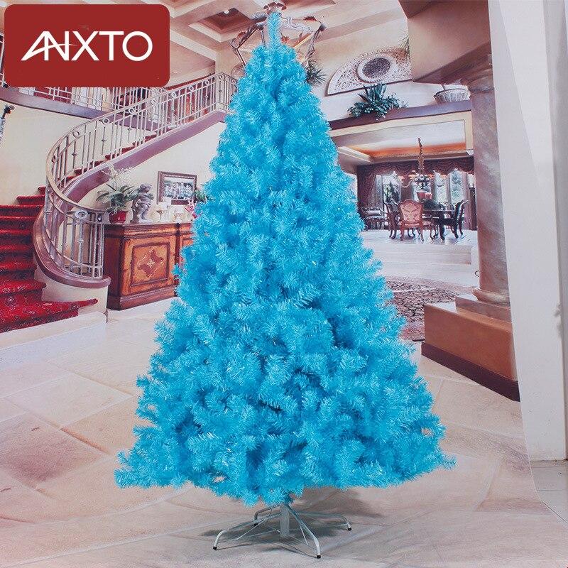 180 centimetri albero Di Natale nero blu artificiale albero Di Natale decorazioni di natale decorazioni natalizie per la casa di trasporto libero