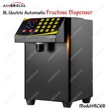 цены RC16 Electric Automatic Fructose Dispenser Quantitative Fructose machine Syrup dispenser for Bubble tea shop