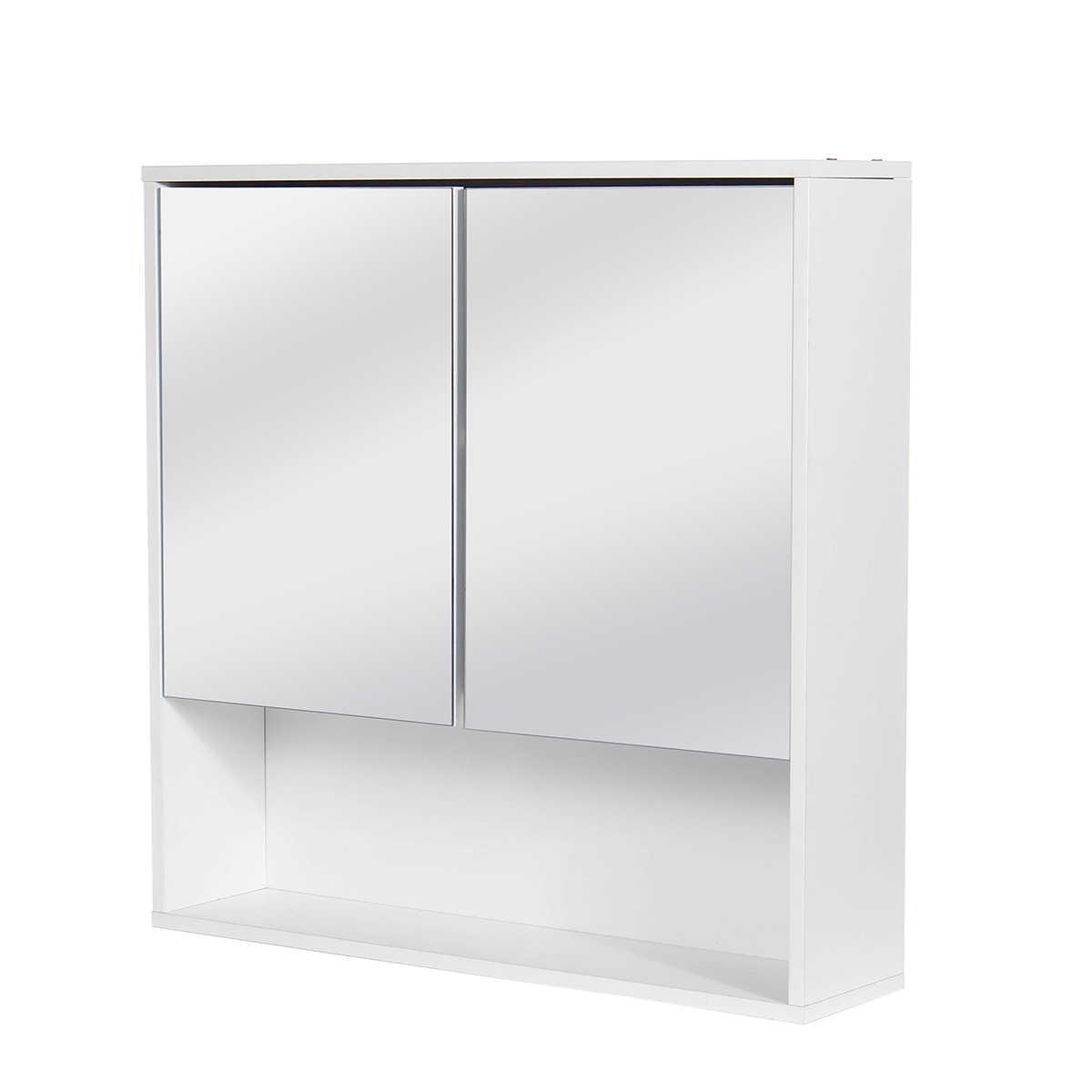 60x60cm Bathroom Cabinet Wall Mounted Bathroom Mirror Cabinetstoilet Furniture Cupboard Shelf Storager Modern Style Uk Stock Aliexpress