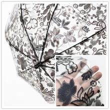 Цветочный дизайнерский тканевый полупрозрачный мягкий водонепроницаемый
