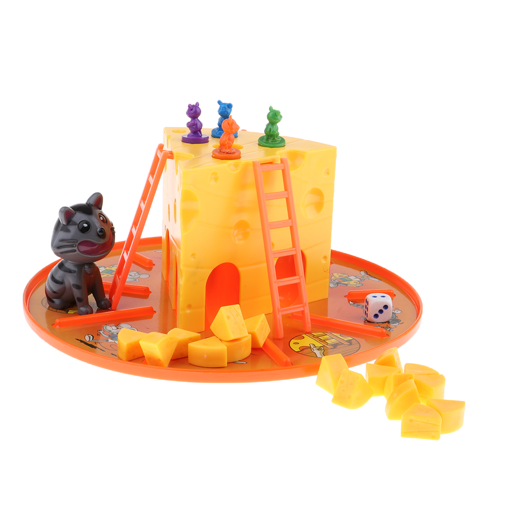 Cat And Mouse Cheese Game Parent-Child Interactive Board Game Toys For Boys And Girls Entertainment
