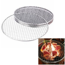 Wire-Net Barbecue-Grill Mesh Bbq Picnic Stainless-Steel Outdoor Cook Replacement