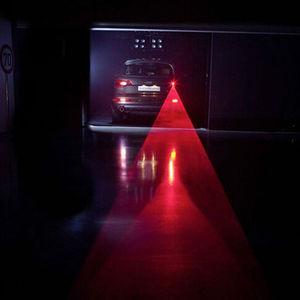 Car LED Laser Fog Light Vehicle Anti-Collision Tail-light Brake Warning Lamp Roadway Safety Traffic Light
