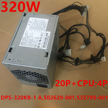 PSU Power-Supply DPS-320KB-1 New for HP Workstations Z200 20P 320W Dps-320kb-1/A/502629-001/535799-001