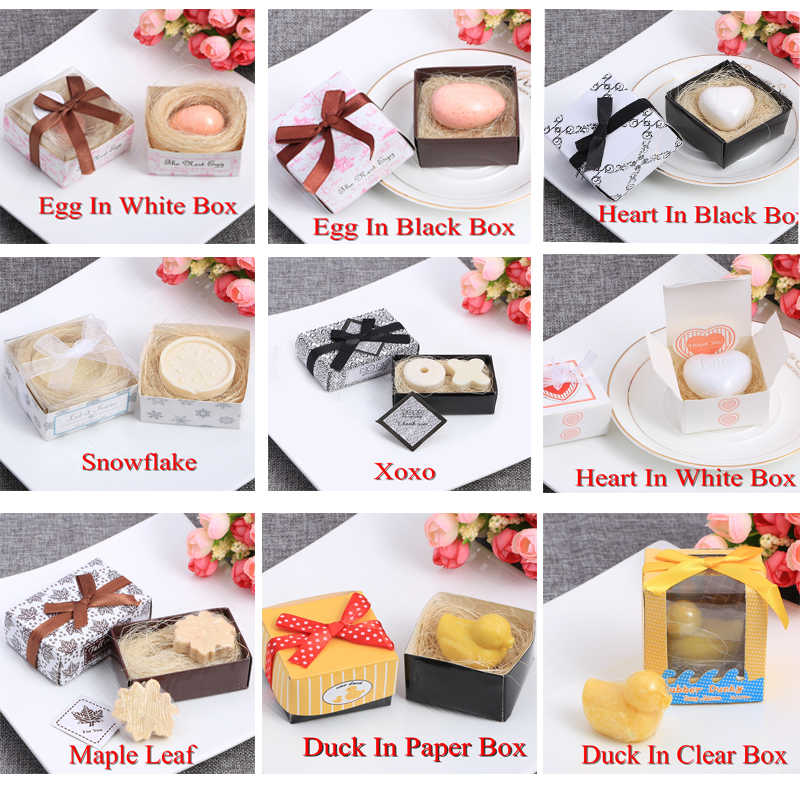 14 Styles Cute Small Boxed Handmade Soap Wedding Creative Gift Sweet Scent Clean Skin Moisturizing Whitening Skin Care Bath Soap