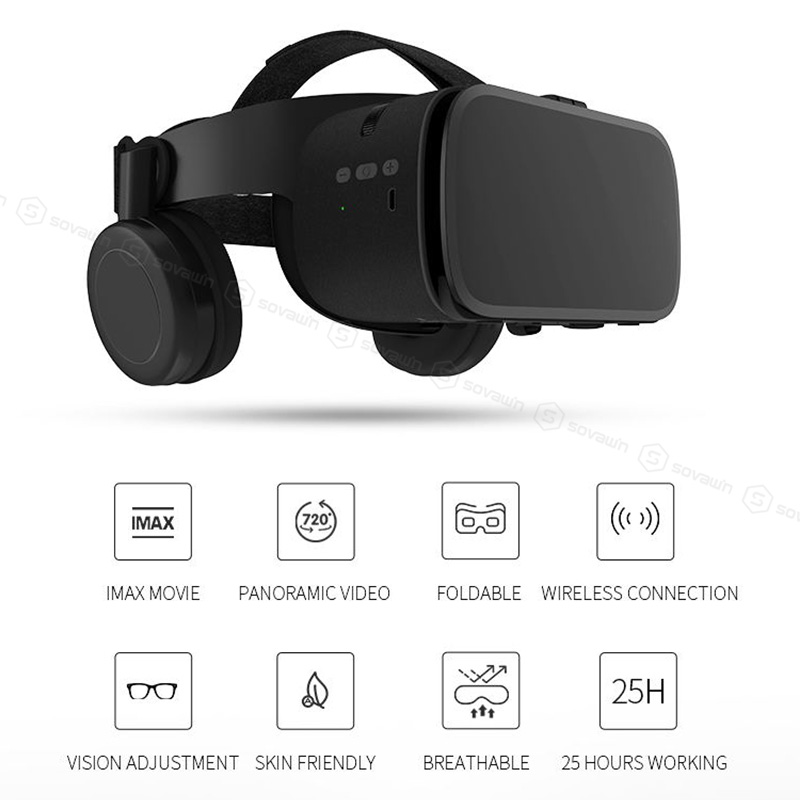 Original BOBOVR Z5 Update BOBO VR Z6 3D Glasses Virtual Reality Binocular Stereo Bluetooth VR Headset Helmet For iPhone Android 5