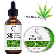 GreenPeople konopie CBD Oil + konopie balsam organiczny olej do skóry przeciwzapalne ulga w bólu łagodzi ból stawów pomoc snu pielęgnacja skóry