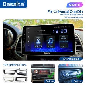 "Image 2 - Dasaita 1 Din Android 10.0 TDA7850 10.2"" IPS Universal Car Radio Nissan Toyota Auto Stereo GPS Navigation Carplay 4G 64G BT 5.0"