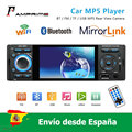 AMprime 4 ''HD Автомобильный Радио Видео плеер MP5 1din емкостный сенсорный экран цифровой дисплей Bluetooth мультимедиа авторадио FM