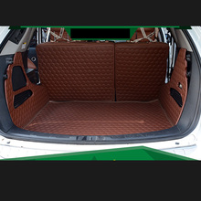lsrtw2017 fiber leather car trunk mat for luxgen 7 2013 2014 2015 2016 2017 2018