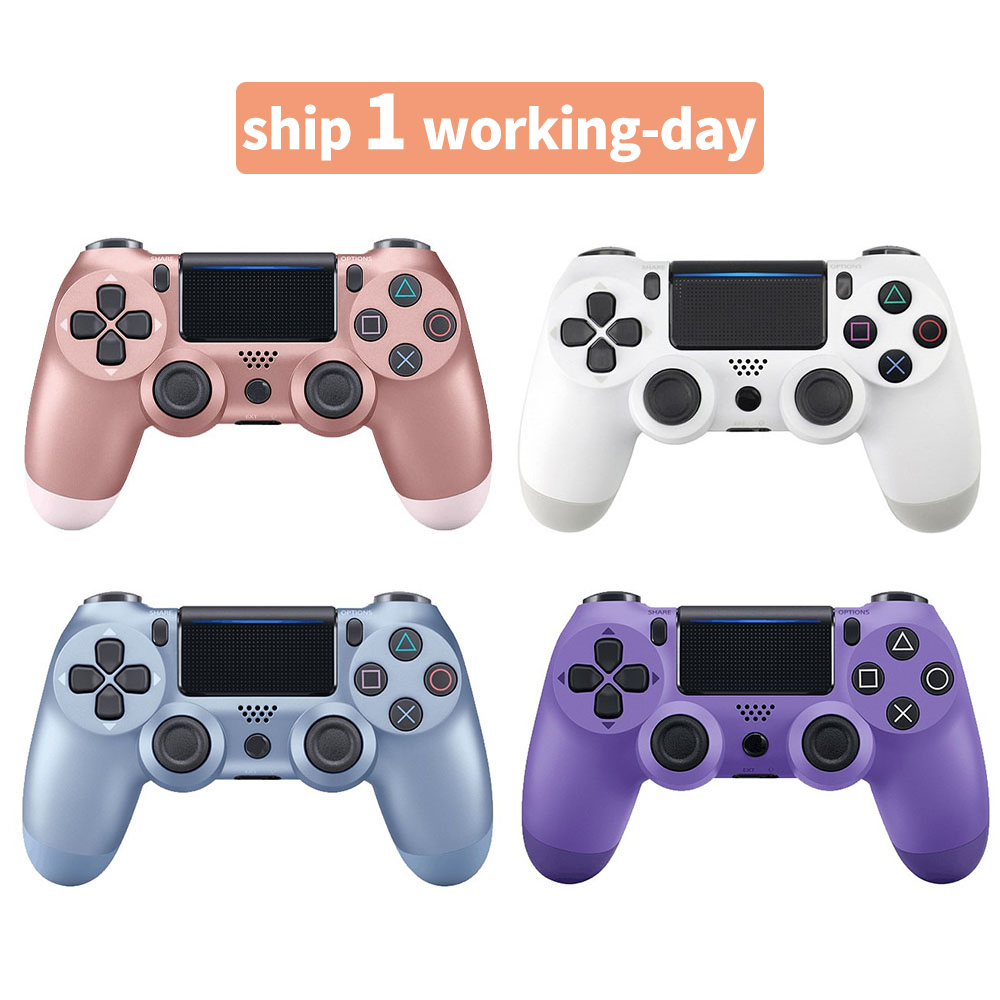 Wireless Controller Bluetooth 4.0 Gamepad for PS4 Gamepad for Dualshock 4 Joystick for PC for PS3 Controller for Playstation 4(China)