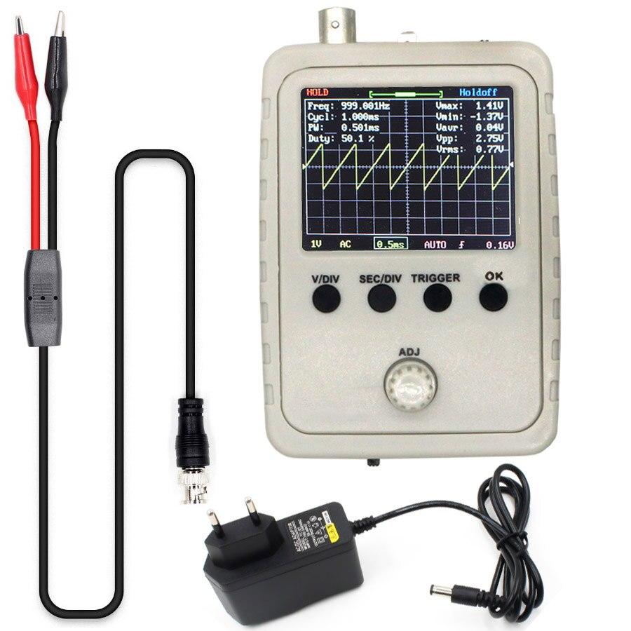 DSO Digital Shell STM32 Oscilloscope Fully Assembled With Crocodile Clip Probe Non-original