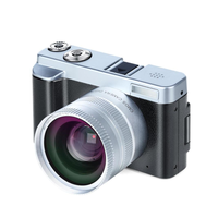 P12 pantalla abatible inalámbrica WIFI doble lente gran angular Full HD 1080P 24MP 16X Zoom HDMI y ranura para micrófono grabadora de vídeo de cámara Digital