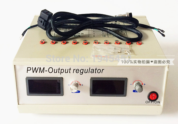 Adjustable Voltage Common Rail Pump Tester Simulator For Vp37 Ve37 RED4 Electric Pump For Electric Governor Actuator