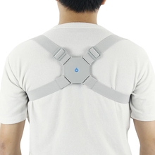 Aptoco調節可能なスマートバック姿勢コレクターバックインテリジェントブレースサポートベルトショルダートレーニングベルト補正脊椎バック