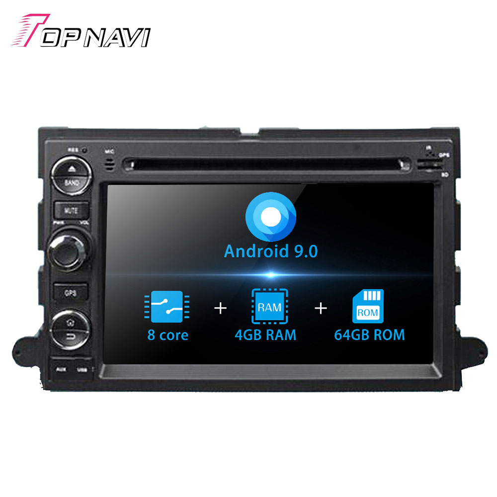 Autoradio Android 9.0 For <font><b>Ford</b></font> Fusion/Explorer/500/F150/Focus/Edge/Expedition/Mustang/<font><b>Escape</b></font> /Freestyle/Mercury Car <font><b>GPS</b></font> 2 Din image