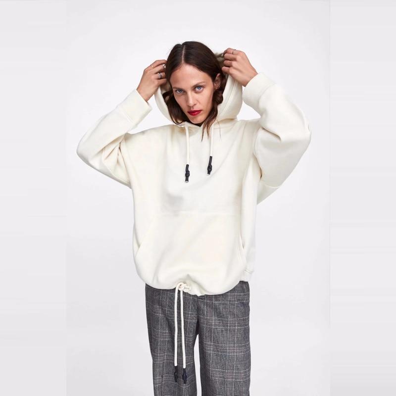 2019 Winter Women Hoodies Sweatshirt  Autumn Hollow Out Casual Long Sleeve Slim Pullovers