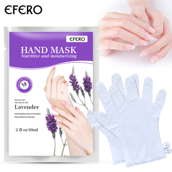 1 Pair Milk  Pedicure Hand Mask Soft Moisturizing Whitening Anti Wrinkle Remove Hard Dead Skin Hand Spa Skin Care Tools TSLM1