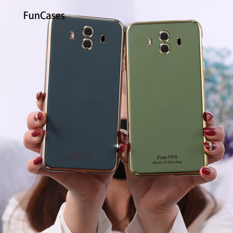 Colorful Clear Cases For Huawei <font><b>Mate</b></font> 30 Soft TPU Shell Huawei <font><b>Mate</b></font> 10 <font><b>20</b></font> Y6 2018 Pro <font><b>Lite</b></font> Y9 2019 Y7 30 X Prime 9 Y5 Fundas image