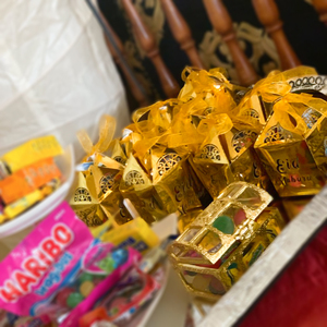 Image 2 - Meidding ラマダン紙ギフトボックスカリーム装飾イードムバラクバナー家の装飾イード · アル · fitr ラマダン mubarak パッキング装飾バルーン