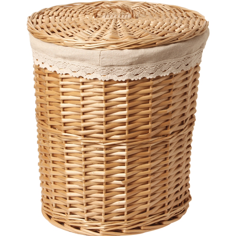 Wicker dirty clothes storage basket hamper clothes clothes frame storage storage box hot pot shop weaving clothes Laundry Baskets     - title=