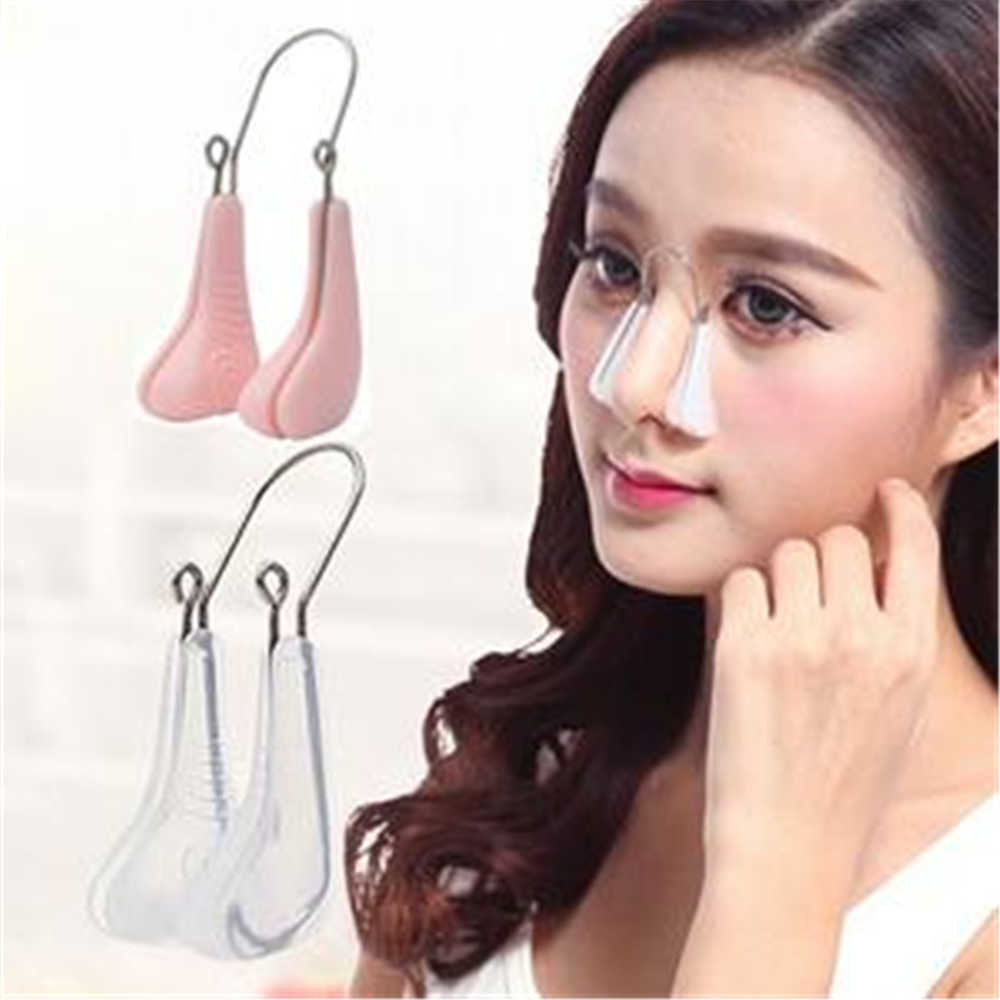 1 Pc Zachte Siliconen Nose Shaper Lifting Clip Neus Bridge Vormgeven Corrector Neus Up Afslanken Massager Beauty Tools