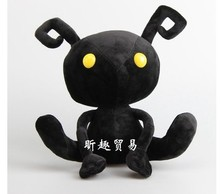 цена на Free shipping 30cm Kingdom Hearts Shadow Heartless Ant Soft Plush Toy animal stuffed plush soft doll for children birthday gift