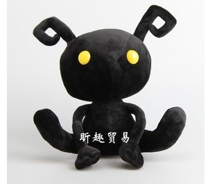 Free shipping 30cm Kingdom Hearts Shadow Heartless Ant Soft Plush Toy animal stuffed plush soft doll for children birthday gift(China)