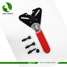 цены R134a Universal automotive air conditioning compressor disassembly tool wrench Car air conditioning repair tools kit