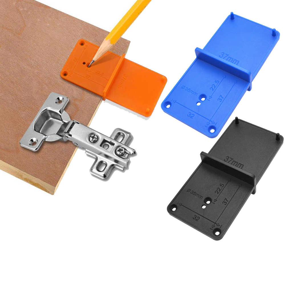35mm 40mm Hinge Hole Drilling Guide Locator Hole Opener Template Door Cabinets Diy Tools For Woodworking Hand Tools Set Hand Tool Sets Aliexpress
