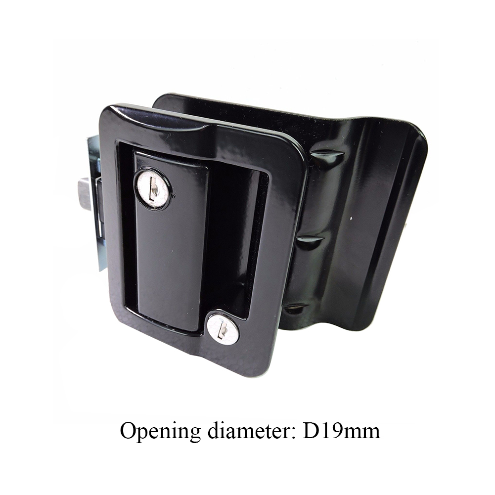 Durable Zinc Alloy RV Paddle Entry Door Lock-1