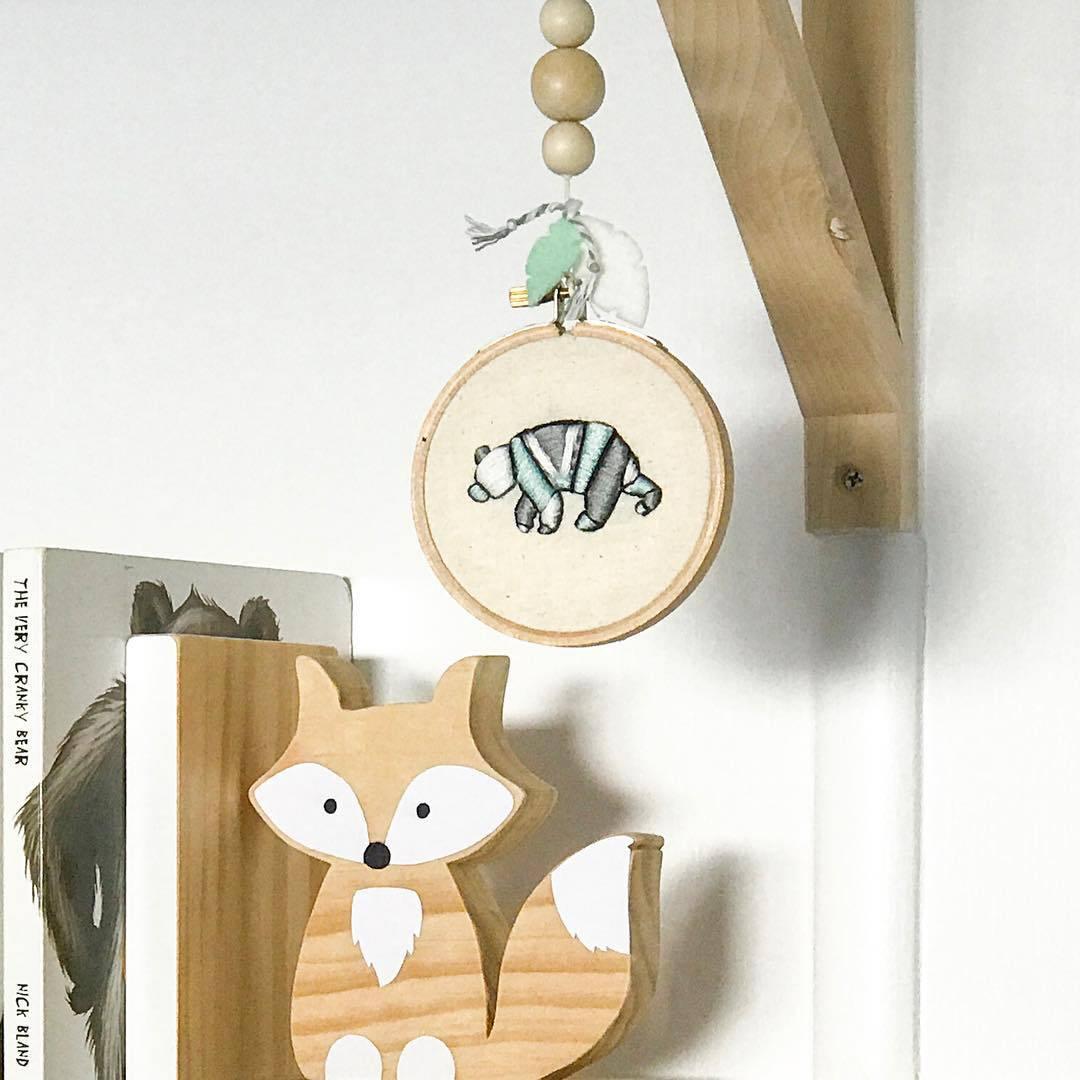 bebê madeira nordic moda câmera pendurado quarto
