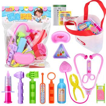 Zabawki edukacyjne dla dzieci zabawki lekarze domowi pielęgniarki zestawy stetoskopy termometry kolor gorąca sprzedaż tanie i dobre opinie The North E home Z tworzywa sztucznego not eat 0301 3 lat Unisex