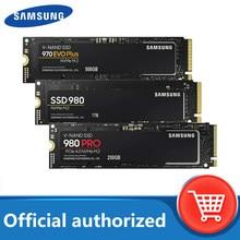 SAMSUNG-unidad interna de estado sólido para ordenador portátil, SSD M.2 500GB 970 EVO Plus NVMe 980 PRO 1TB, disco duro 980 nvme 250GB HDD