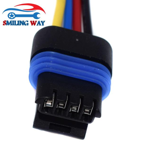Válvula IAC/ICM/HEI distribuidor conector de cableado flexible macho para Dodge Mercedes-Benz Chrysler Pontiac Buick GMC Chevrolet