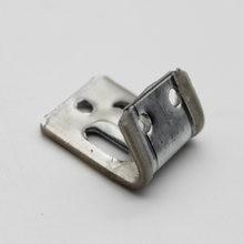 10 pces aço s clip com envoltório plástico para o reparo da mola do sofá de zig zag
