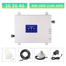 GSM повторитель 2G 3G 4G 900 1800 2100 2600 LTE Усилитель сотового сигнала 4G Сотовый усилитель мобильного DCS усилитель сигнала повторитель