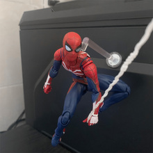 SHF Spider Man Far From Home PS4 version model toy doll Pupp
