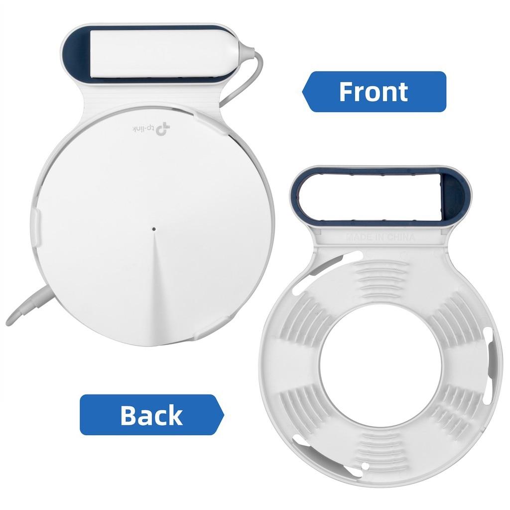1 Pack Wall Mount Bracket US Plug Outlet Mount Holder for TP-Link Deco M9 PLUS
