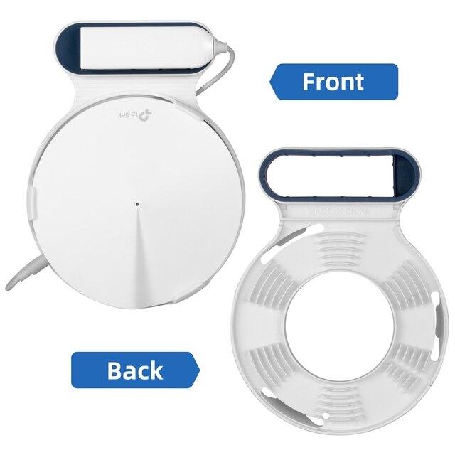STANSTAR soporte de pared para tp link Deco M9 Plus sistema WiFi de malla para todo el hogar, soporte de soporte resistente, sin cables desordenados