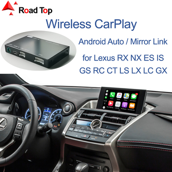 Wireless CarPlay for Lexus NX RX IS ES GS RC CT LS LX LC UX GX 2014-2019, with Android Mirror Link AirPlay Car Play Functions