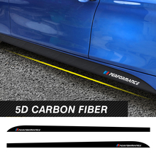 For BMW F30 F31 F32 F33 F22 F23 F15 F85 F10 E60 E61 G30 E90 M Performance Logo Stickers Side Skirt Vinyl Tuning Car Accessories