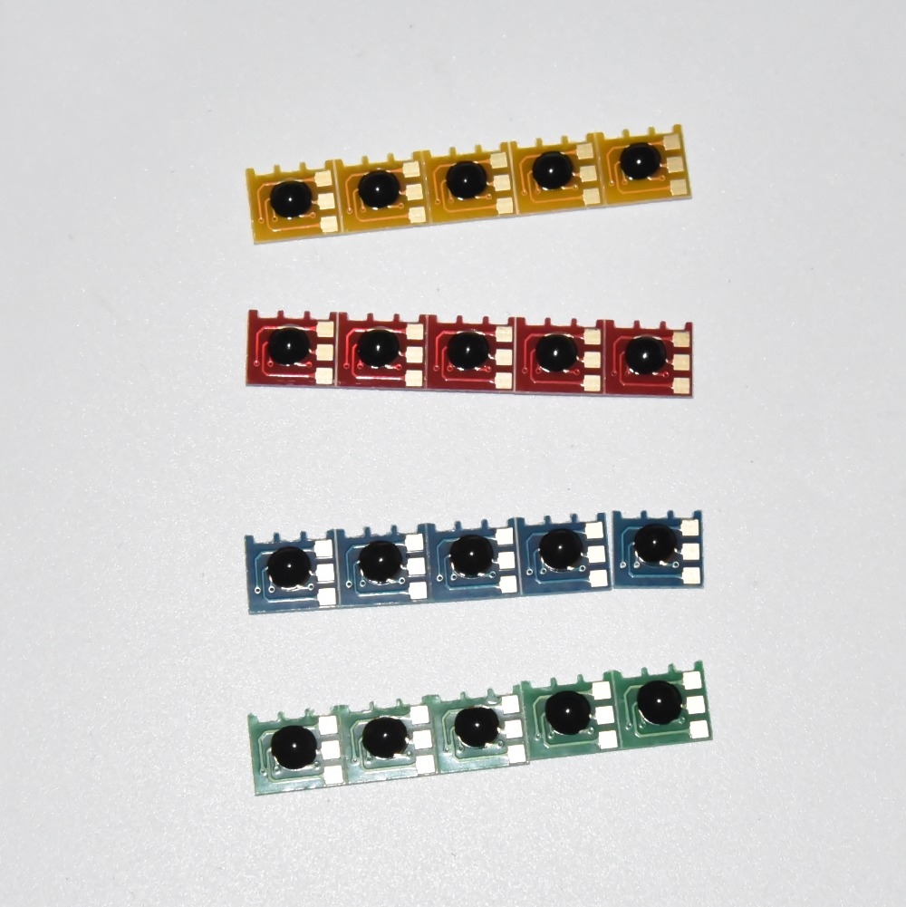 5 ensembles Cartouche De Toner Puce 827A CF300A CF301A CF302A CF303A Pour HP Color LaserJet Enterprise M 880 880z M880 M880z