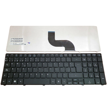 Teclado español para Teclado negro SP para Acer Aspire 5733 5733Z 5250...